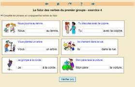 conjugaison clic ma classe
