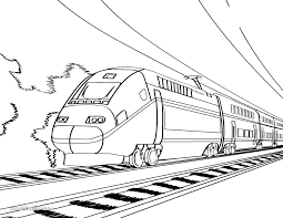 coloring page train car train coloring page printable yuga me