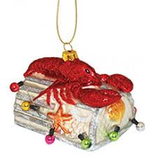 lobster ornaments coastal products by region cape shore