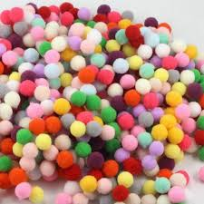 online shop 15mm multi color pompom ball round diy crafts soft pom