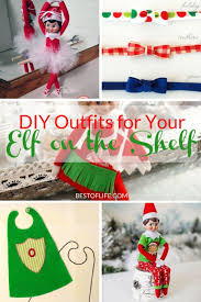 help with christmas diy on the shelf clothes elves shelves and creativity