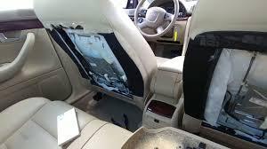 07 audi a4 rear seat repair como reparar panel de el aciento