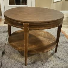 Mersman End Table Vintage Mersman Round Coffee Table U2014 That Gumbo Life