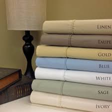 amazon com queen ivory cotton blend wrinkle free sheets 650