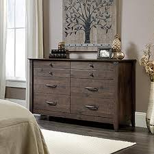 Carson S Bedroom Furniture by Sauder Carson Forge 6 Drawer Washington Cherry Dresser 415520