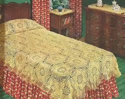 bedspread pattern etsy