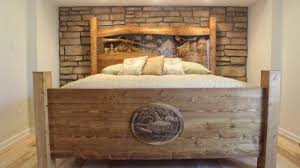 amazing natural wooden bed frame french country house furniture