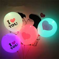 glow in the balloons 12inch flash light glow led balloons 2017 event party supplies