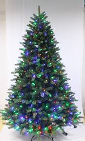 prelit christmas trees ultra devonshire fir pre lit tree with led lights 4ft to 12ft