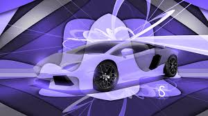 lamborghini purple 2017 lamborghini aventador 3d super crystal abstract art car 2017 ino