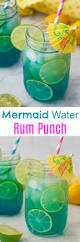 mermaid water cocktail wishes and dishes