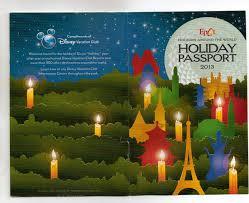 epcot s holidays around the world map and passport disneydining