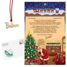 personalized letter from santa letter from santa to child santa letters to children kimball