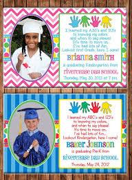 kindergarten graduation announcements pre k graduation invitations kawaiitheo