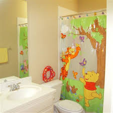 bathroom ideas fish kids bathroom sets with single sink bathroom disney kids bathroom sets with winnie the pooh shower curtains and undermount bathroom sink also