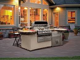 Prefab Outdoor Kitchen Grill Islands Kitchen Outdoor Kitchen Island And 34 Wolf Outdoor Kitchen