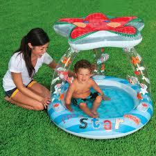 Intex Inflatable Swimming Pool Intex Lil U0027 Star Shade Baby Pool Size 3 3ft X 2 8ft