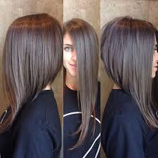 mid length hair cuts longer in front 25 best long angled bob hairstyles we love hairstylec