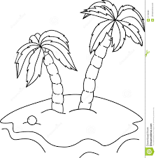 coloring pictures of a palm tree coloring book palm trees stock vector illustration of draw 67788980