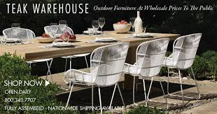 Teak Warehouse Teak Wicker And Outdoor Furniture - Teak dining room chairs canada