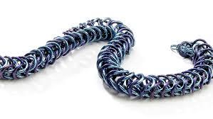 ring bracelet necklace images Colored jump ring bracelet facet jewelry making jpg