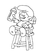 smurfs coloring pages free coloring pages