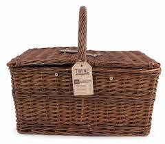 picnic gift basket twine seaside 20 cape cod wicker picnic basket set reviews