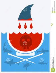 stop shark finning soup vector illustration stock vector image