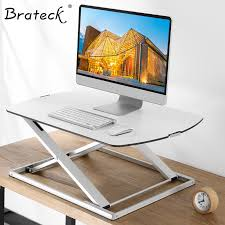 computer desk monitor lift brateck stand office lift desk computer desk stand alternate