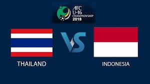 jadwal siaran langsung timnas u 16 vs thailand dan nonton live