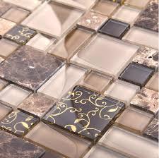 wholesale backsplash tile kitchen marble mosaic tile glass mosaic kitchen tile backsplash