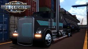 kenworth concrete truck american truck simulator oversize load concrete bridge