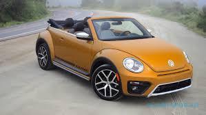 volkswagen beetle 2017 volkswagen beetle dune convertible review slashgear