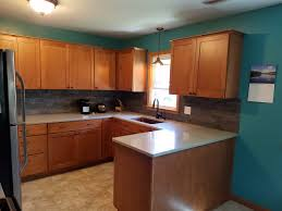 Kitchen With Maple Cabinets Kitchen Remodel With Maple Cabinets And Hanstone Quartz
