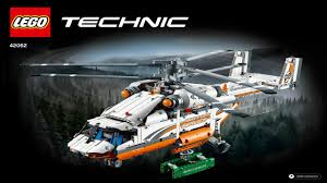 instructions for lego technic 42052 heavy lift helicopter youtube