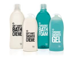 superdrug u0027s basic bath range on packaging of the world creative