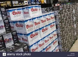 case of coors light coors light stock photos coors light stock images alamy