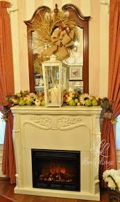 Fireplace View Thanksgiving Fireplace Decorations Room Ideas