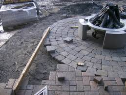 Simple Brick Patio With Circle Paver Kit Patio Designs And Ideas by Circle Paver Patterns U2013 Kits And Starts Steve Snedeker U0027s