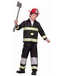 Firefighter Halloween Costume Fireman Halloween Costume Boy Fireman Costumes