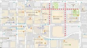 Phoenix Airport Terminal Map Downtown Phoenix Road Closures Ahead Of President Trump U0027s Rally