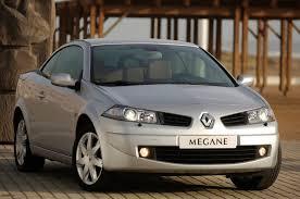 renault megane 2009 sedan renault megane cabriolet 2003 2005 photos parkers