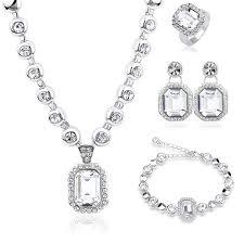 swarovski set bracelet images New hot set genuine crystals from swarovski luxury necklace jpg