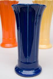 Antique Cobalt Blue Vases Original Cobalt Blue Vintage Fiesta Dinnerware Fiesta Pottery For