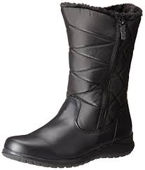 womens boots on amazon amazon com totes s edgen zip boot black 8 m us