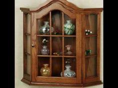 make with shelves instead of glass for a bookcase cabinet diy