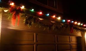 garage door christmas lights image collections french door