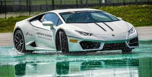 Lamborghini Huracan Drift - track accademia lamborghini squadra corse