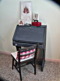 Small Black Secretary Desk by Roll Top Secretary Desk Plans Best Home Furniture Decoration