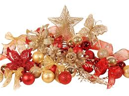 christmas decoration sets pines and needles